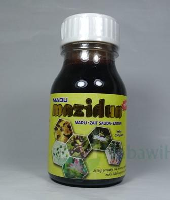 Mazidun 6 in 1 (Madu+Zait Sauda+Zaitun+Jahe Merah+Pegagan+Temulawak)