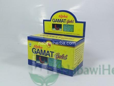 Alpha Gamat Gold @50 Kapsul