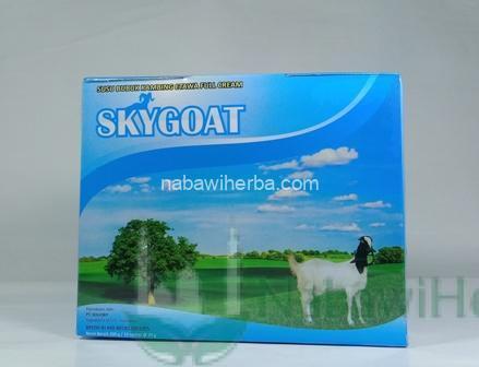 Susu Kambing Bubuk Sky Goat (Sachet 10 x 20 gr)