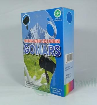 Susu Kambing Gomars vanila 200 gr
