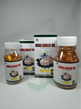 Haba Garlic Oil Gold