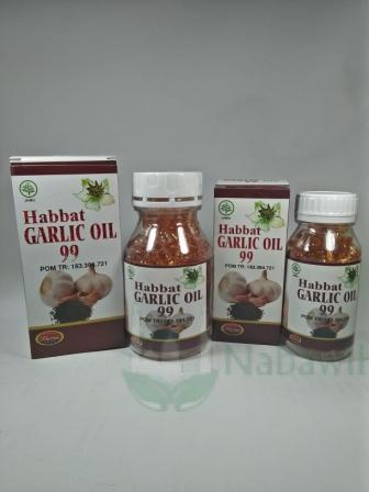 Habbat Garlic Oil 99 Kharisma