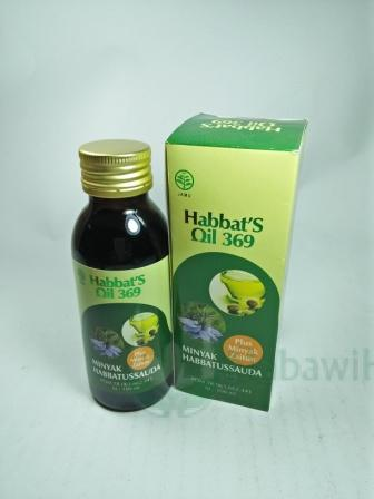 Habbats Oil 369 Plus Zaitun 100 ml