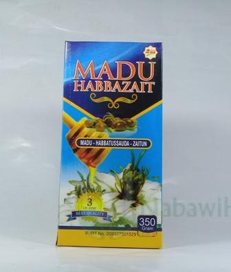 Madu HabbaZait 350 gr