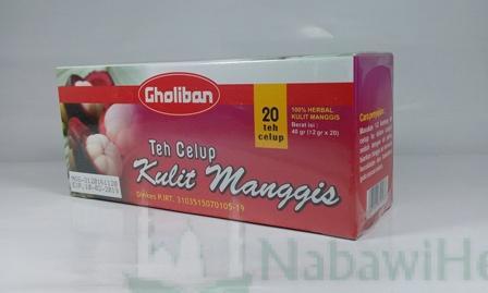 Teh Celup Kulit Manggis Gholiban