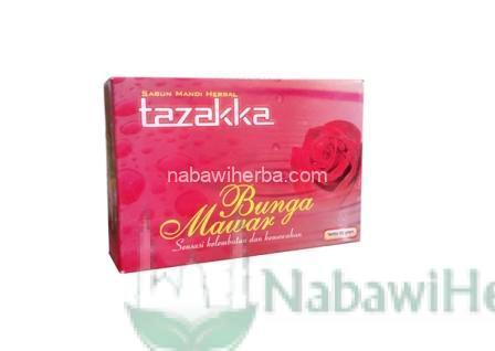 sabun mawar tazakka