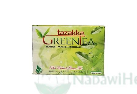 sabun green tea tazakka