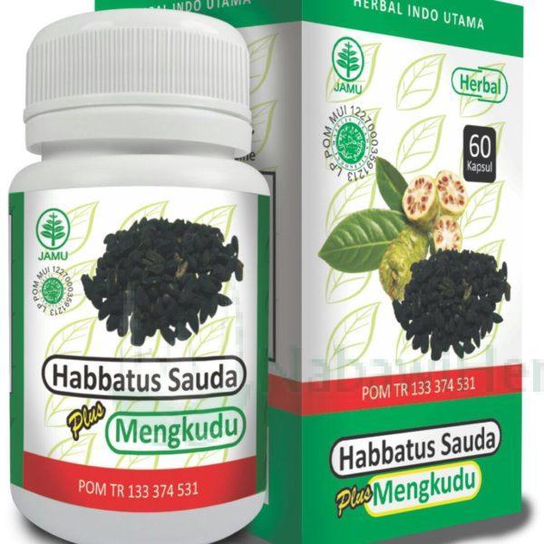 Habbatussauda plus Mengkudu HIU
