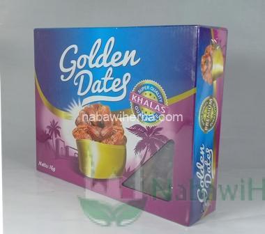 Kurma Golden Dates Premium Ungu 1 kg (Khalas)
