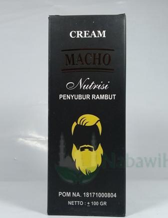 Cream Macho (Nutrisi Penyubur Rambut)